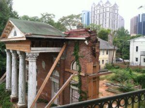 edifice-crumbling